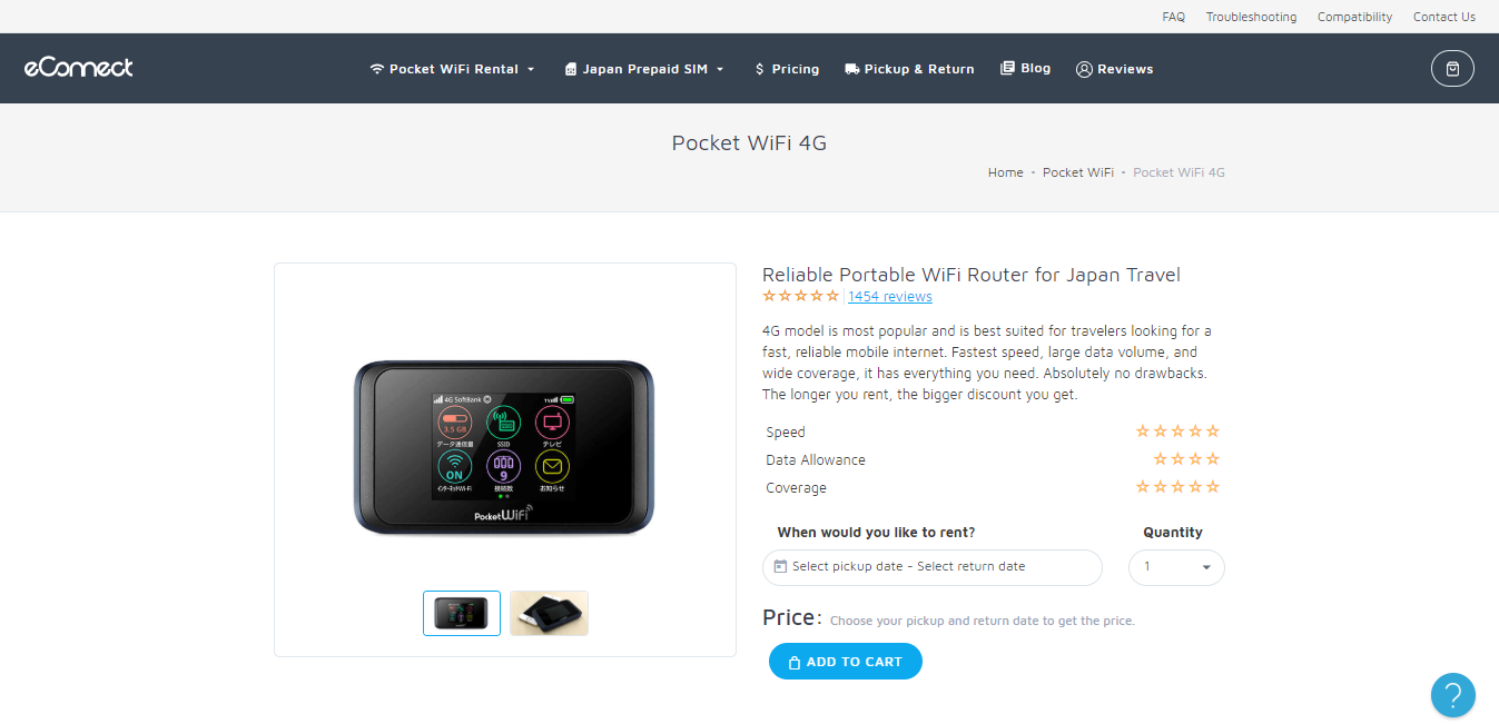 2019 How Much Does It Cost To Rent Pocket Wifi In Japan