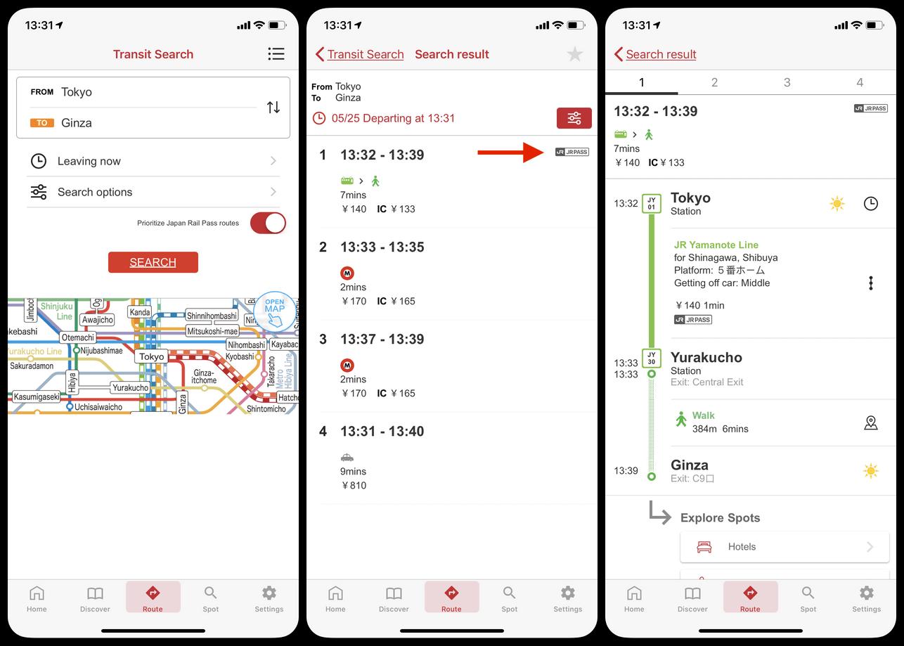 Top 4 Free Transportation Apps in Japan [2019]